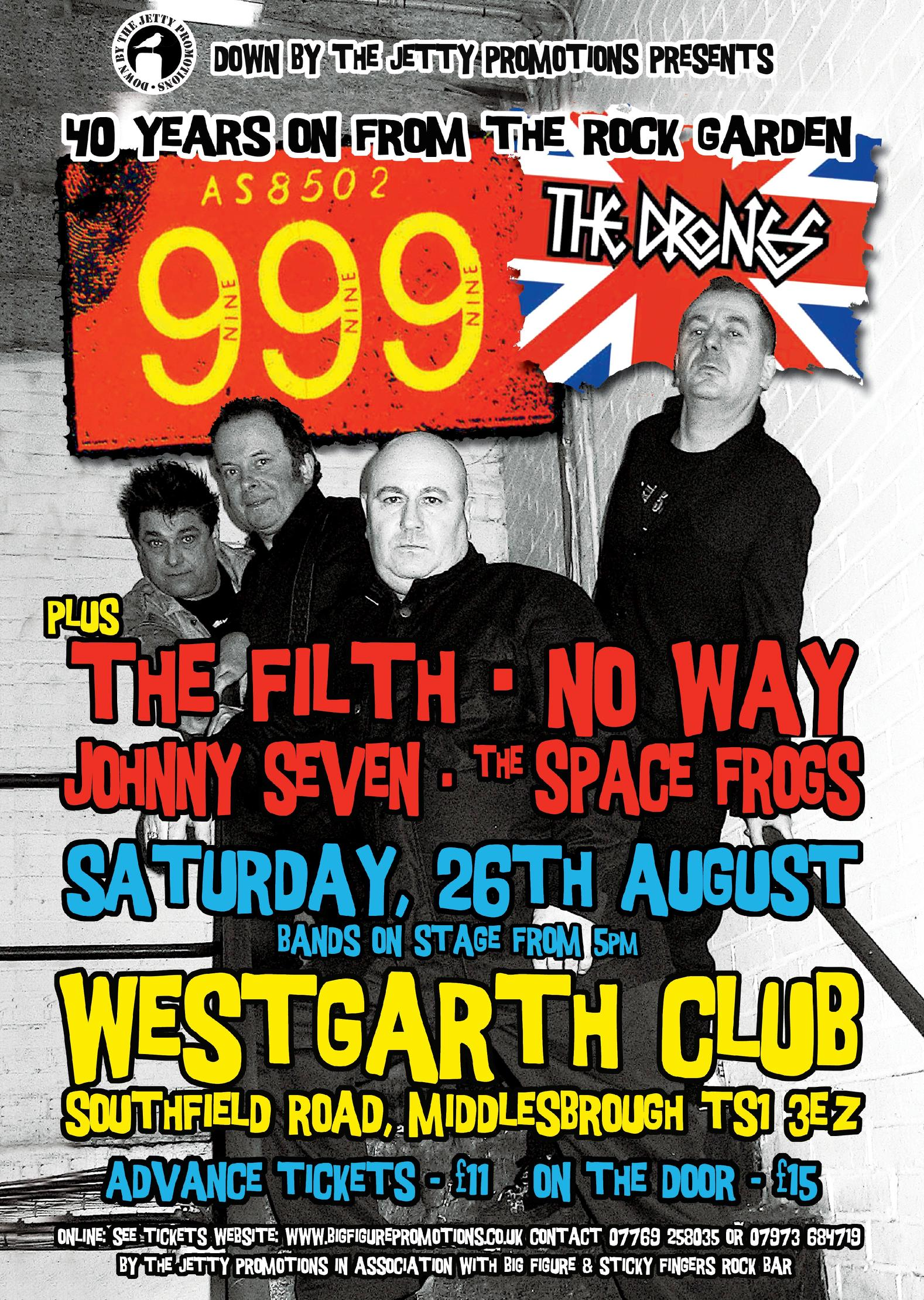 999 Live at the Westgarth Club